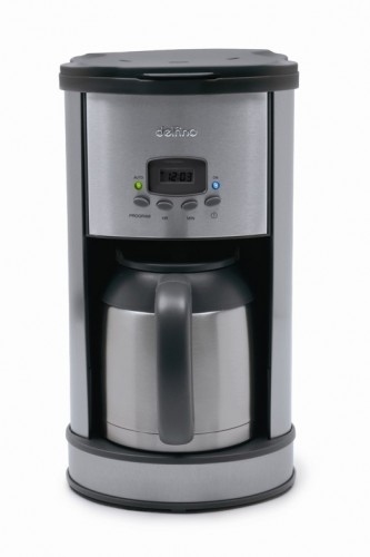 Delfino Coffee Maker Replacement Carafe : Programmable Coffee Maker with Thermal Carafe - Toastess