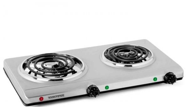 cuisini re lectrique portative acier inoxydable toastess. Black Bedroom Furniture Sets. Home Design Ideas